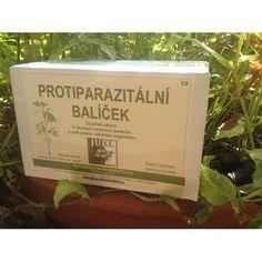 Protiparazitální balíček -  vyhoštění a likvidaci vnitřních parazitů, celkové vyčištění organismu