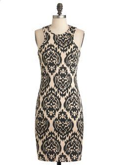Stylish to the Decor Dress, #ModCloth