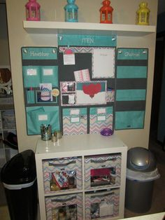 Super 31 Organization with the Hang-Up Home, Family and Room Organizer.