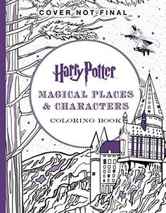Harry Potter Magical Places Characters Coloring Book By Scholastic Amazon Dp 1338030019 Refcm Sw R Pi H8Rqwb1SWM4F9