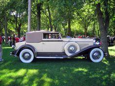 Rollston Duesenburg J Convertible Victoria 1931