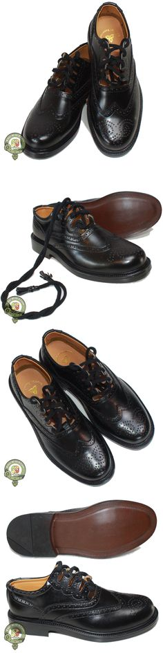 Ghillie Brogues PU Leather Ghillie Brogues Scottish Kilt Shoes UK Sizes 7-12
