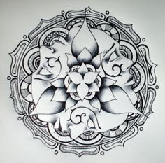 Image detail for -lotus triplets by surf 4 life designs interfaces tattoo design 2006 ...