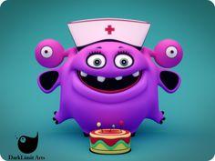 Netty The Alien Nurse by DarkLimitArts on DeviantArt