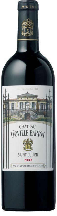 Cabernet sauvignon / Merlot / Cabernet franc 2009 - Château Léoville Barton, Bordeaux -------------------- Terroir: 2ème Gran Cru Classé de Saint-Julien AOC (Médoc) - Bordeaux