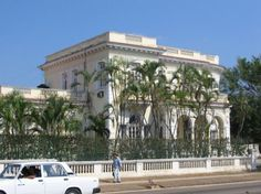 Mansion. Cuban Architecture. The splendor of pre castro Cuba