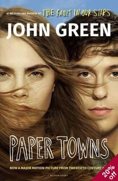 """Paper Towns"" by John Green. Starring Nat Wolff and Cara Delevingne. Paper Towns Characters, Paper Towns Film, Movie Characters, Margo Roth, John Green Paper Towns, Movie Guide, Looking For Alaska, 2015 Movies, The Fault In Our Stars"