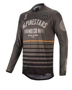 O /'neal elemento FR bloqueador jersey azul negro camiseta MTB DH MX motocross todoterreno