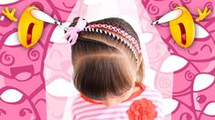 Trenza con cinta fusión - Cuatro trenzas en uno - Braid with strap - Смотреть видео бесплатно онлайн Cornrows, Braids, Easy Toddler Hairstyles, Updos, Diana, Little Girls, Hair Styles, Beauty, Youtube
