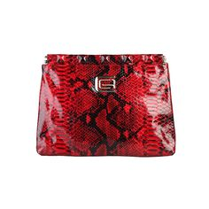 Cavalli Red Clutch Bags | The Nora #FreeShipping