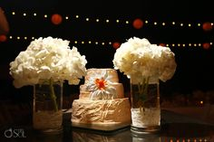 The flowers are the perfect accent for a beautiful cake #SecretsMaromaBeachRivieraCancun #Mexico #DestinationWedding