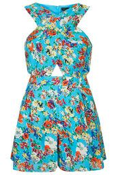 Meadow Floral Cross Over Playsuit