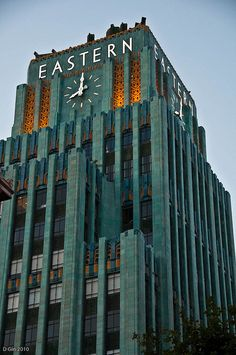 Eastern Columbia Building in the Broadway Theater District of Los Angeles by dgin12 via Flickr