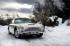 Would you drive your Aston in the snow??