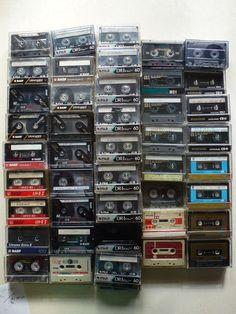 92 Audiokassetten, Musikkassetten, Kassetten, gebraucht - BASF, TDK,...60/90min.