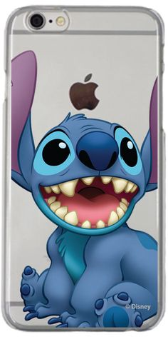 Gotta love that smile! Check out this great Disney Lilo & Stich Smile design on iPhone 7 Clear Shield Case by Fanmade http://amzn.to/2qZ3RzU