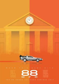 #illustration #backtothefuture #poster