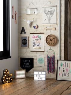 Off the Wall, Wall Art #typoshop #style #decor #apartment #home