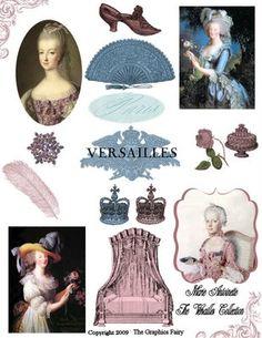 1000 Followers Celebration - Free Digital Collage Sheet - The Graphics Fairy