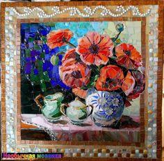 НЕОБЫЧНАЯ МОЗАИКА: Мозаичные картины Жозефины Александер