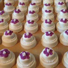 Wedding cake oreo favors