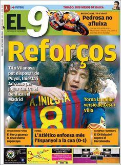 Prensa deportiva del 1 de Octubre 2012 | discutivo.com