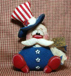 Yankee Doodle Dandy Sam Pattern 216 Primitive by GingerberryCreek