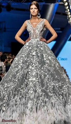 Michael Cinco Couture Michael Cinco Couture, Ball Gowns, Formal Dresses, Fashion, Luxury, Ballroom Gowns, Dresses For Formal, Moda, Clearance Prom Dresses