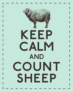 Count Sheep ... Bah ha ha