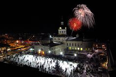 City Hall Fireworks Kingston, ON Oh The Places You'll Go, Great Places, Places Ive Been, Kingston Ontario, Cultural Experience, Banff National Park, Beautiful Buildings, Holiday Destinations, Things To Do