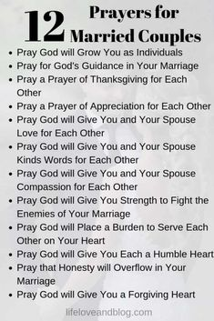 I love this list of prayers for married couples. Marriage prayers are a key step for couples wanting to strengthen their relationship and fulfill God's purpose in their marriage. Prayer For My Marriage, Prayer For Married Couples, Godly Marriage, Marriage Goals, Marriage Relationship, Happy Marriage, Love And Marriage, Couples Prayer, Marriage Scripture