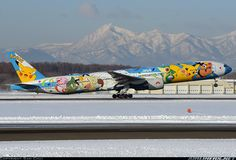 "ANA ""Pokemon"" Boeing 777-381 @ CTS"