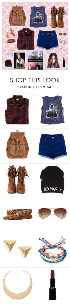 """Niall & 5SOS Hang Out"" by mary-5so1ds ❤ liked on Polyvore featuring Wallace, American Eagle Outfitters, Topshop, Pull&Bear, Wild Diva, Gap, Rayban, Pura Vida, First People First and Giorgio Armani"