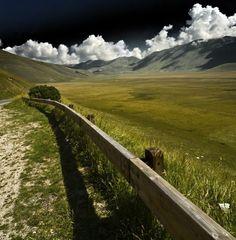 Sergio Occhiuzzo- castelluccio landscape umbria