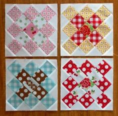 Love it, Porch Swing quilts with some Sew Cherry fabric!  This confirms that I SHOULD use my Sew Cherry jelly roll to make a granny squares quilt!