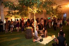 r the picnic-inspired Absolut Orient Apple launch party in New York last summer, organizers covered the floor of the indoor venue with sod, and brought in live trees and wooden barrels filled with thousands of apples.