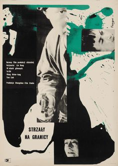 Designer: Fangor Wojciech. Title: Strzaly na Granicy. 1958. Chinese film.