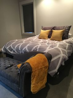 Basement master Park City, Comforters, Basement, Bedding, Blanket, Furniture, Home Decor, Creature Comforts, Quilts