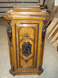 Antique Music Cabinet