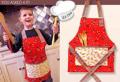 FREEBIES FOR CRAFTERS: Childs Aprons