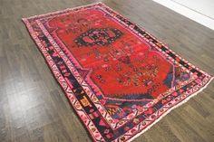 Antique Traditional Persian Wool 5 6 X 9 Oriental RUG Handmade Carpet Rugs | eBay
