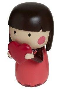 love messenger ~ heart ~ Kokeshi Japanese doll