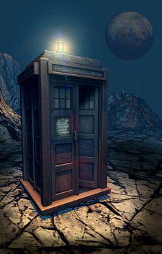 THE TARDIS OF GALLIFREY