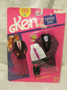 Vintage 1990 Barbie Outfit Clothing 4944 Ken Dinner Date Fashions | eBay