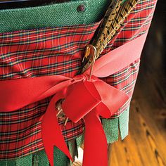 Dress Your Chairs - 101 fresh christmas decorating ideas - Southern Living