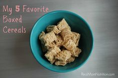My 5 Favorite Boxed Cereals by Real Mom Nutrition