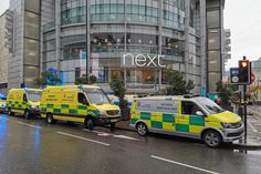 General images around the exterior of Manchester Arndale Centre following this morning's stabbings on Friday 11th October 2019.  (Photo by Eddie Garvey/MI News/NurPhoto via Getty Images) via @AOL_Lifestyle