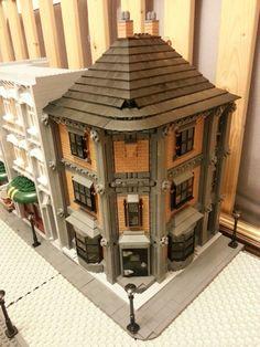 2014 - London The Capital of an Empire Legos, Lego Winter Village, Lego Village, Casa Lego, Lego Universe, Lego Sculptures, Lego Boards, Lego Craft, Lego Modular