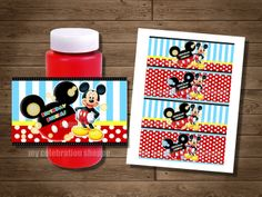 INSTANT DOWNLOAD Mickey Mouse Bubble by MyCelebrationShoppe, $3.50