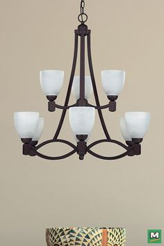 Patriot Lighting India Chandelier With Oil Rubbed Bronze Finish And White Fa